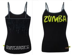 ZUMBA FITNESS Dance - INSTRUCTOR Top Shirt Tank Tee RARE ~fr Convention S M L XL #ZUMBAZUMBAFITNESS #TopShirtRacerback