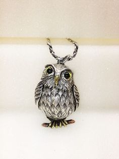 Owl pendant top