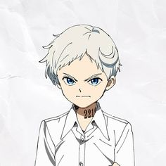 The Promised Neverland anime character headshots Emma (voiced by Sumire Morohoshi) Ray (voiced by Mariya Ise) Norman (voiced by Maaya Uchida) Isabella Sister. Norman, Manga Anime, Anime Art, Desenhos Love, Anime Triste, Tamako Love Story, Hxh Characters, A Silent Voice, Precious Children