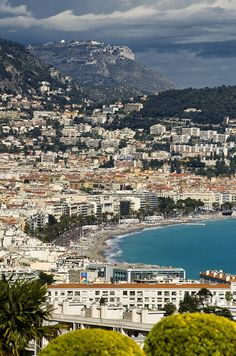 Nice, France - nice, but much, much nicer if you avoid July and August!