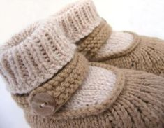 Baby Merry-Jane - Knitting Patterns by Bekah Knits