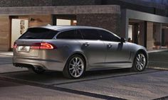 1 March 2012 New Jaguar XF sportbrake - first estate car from Jaguar since X-type