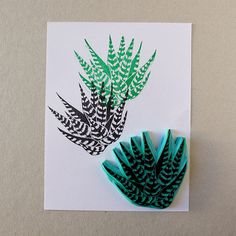cactus plant rubber stamp hand carved zebra succulent Succulent zebra Haworthia rubber stamp for your by CassaStamps zebra Haworthia rubber stamp for your b. Eraser Stamp, Stamp Carving, Cactus Plants, Indoor Cactus, Cactus Art, Cactus Decor, Handmade Stamps, Wax Seal Stamp, Tampons