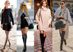 Botas Over The Knee ou Over Boots - famosas-que-usam