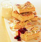 Butterkuchen mit Mandeln/ Apfelbutterkuchen