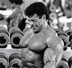 """Lou Ferrigno ~ """"The Incredible Hulk"""" without the green paint."""