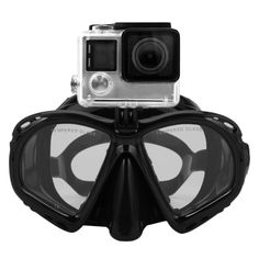 Professional Underwater Camera Diving Mask Scuba Snorkel Swimming Goggles High Performance Suitable For Most Sports Cameras Click visit to check price #watersport #UnderwaterCamera