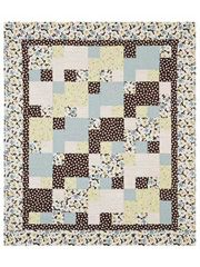 I think I like this for Colton's crib quilt.  Just customize the colors.
