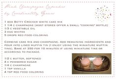 Recipe | Pink Champagne Cupcakes - Coordinately Yours by Julie Blanner entertaining & design that celebrates life