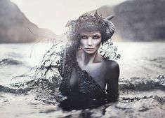 In Slavic mythology, a Rusalka is a female ghost, water nymph, succubus, or mermaid-like demon that dwelt in a waterway. According to most traditions, the rusalki were fish-women, who lived at the bottom of rivers. In the middle of the night, they would walk out to the bank and dance in meadows. If they saw handsome men, they would fascinate them with songs and dancing, mesmerize them, then lead them away to the river floor to their death.