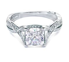 I love Tacori engagement rings!