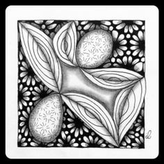 Zentangle Zoo: It's a String Thing #189