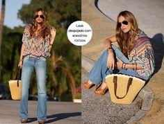 Moda Imagem -  Entre as tendências para os dias mais quentes estão o estilo boho, queridinha na década de 1970.
