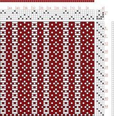 Hand Weaving Draft: 16218, 2500 Armature - Intreccio Per Tessuti Di Lana, Cotone, Rayon, Seta - Eugenio Poma, 5S, 4T - Handweaving.net Hand Weaving and Draft Archive