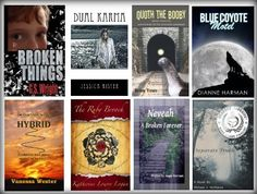 These books are featured this week on Indie Author Promos.  Click in the image to read more about them.