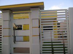 Projeto da Minha Fachada com Muros e Portões!!! E Lindas Inspirações!