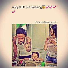 And a loyal bf is also a blessing