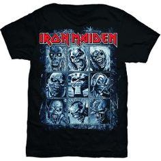 Tricou Iron Maiden: Nine Eddies