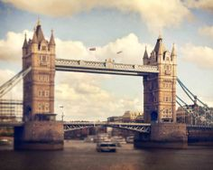 London Photography Tower Bridge England Vintage by GreenIrisPhoto, $25.00