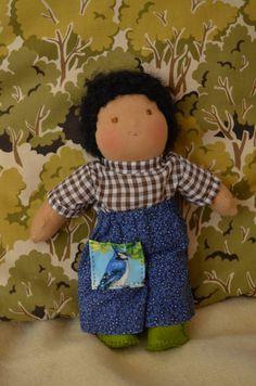 petit garçon poupée poupée waldorf poupée de 8 par OurAshGrove
