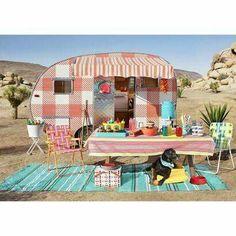 Cute Caravan Camping                                                                                                                                                                                 More