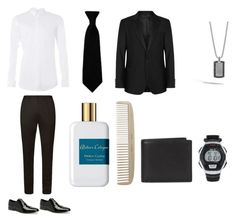 """""""Prom Date, Outfit #2"""" by strawberryzoey ❤ liked on Polyvore featuring Topman, BOSS Hugo Boss, Calvin Klein, Oscar Jacobson, Atelier Cologne, Men's Society, Coach, John Hardy, Timex and men's fashion"""