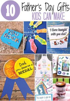 In need of a Father's Day gift idea? You've come to the right place! These fun kids crafts are sure to make your dad's day.
