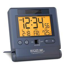 Marathon Watch Company Digital Atomic Alarm Tabletop Clock & Reviews | Wayfair Travel Alarm Clock, Digital Alarm Clock, Alarm Clocks, Marathon Watch, Atomic Wall Clock, Best Alarm, Best Kids Watches, Tabletop Clocks, Radio Frequency