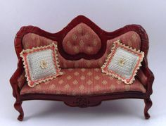 Dollhouse Miniature Cushions Miniature Pillows by MiniatureJoy