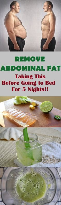 Have Abdominal Fat? Use This Drink Before Sleeping for 5 Nights and You Will Get Rid of It in a Few Days!