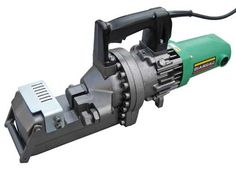 "DC-32WH.  This portable heavy-duty rebar cutter will safely, efficiently, and cleanly cut rebar up to #10 (1¼"") diameter grade 60 rebar."