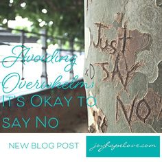 "Saying no - it can feel really hard especially as women and mothers.  But learning how to say no is key to avoiding overwhelm. Saying no to things that don't feel right for us is part of being kind to ourselves.  Learn more in this week's blog post the next in the ""It's Okay"" series.  Check it out via the link in the bio or at http://ift.tt/2jbykWn. Enjoy the read."