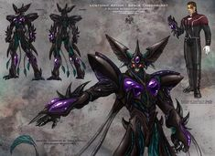 Splicers Metamorph Armored XenoForm DOUBLE CLICK FOR BEST RESULTS & Please Leave Comment!!! Hey Everyone, I recently completed illustrations for (2) new Splicers O.C.C.s (Metamorph & Swarml...
