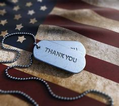 I want to thank the soldiers and their families for their sacrifice. Air Force Mom, Fourth Of July Decor, Special Images, Red White Blue, Memorial Day, Dog Tag Necklace, Jewelry, Flags, Holidays