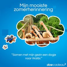 Samen met het gezin een dagje naar Walibi! #zomer #zomerherinnering