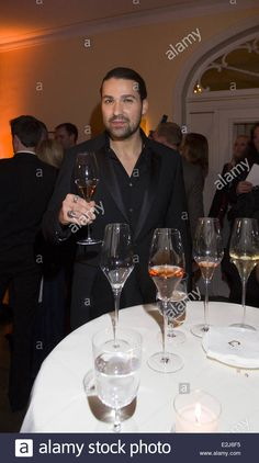Download this stock image: David Garrett at Champagne award, which is awarded for zest for life, at Louis C. Jacob hotel in Hamburg-Nienstedten. Where: Hamburg, Germany When: 11 Feb 2013 ( HAPPY NEW YEAR 2018!.......DGV)