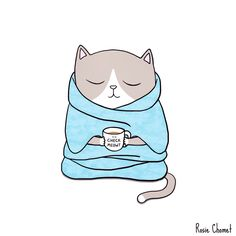 The Chill-Out Cat!  Rosie Chomet