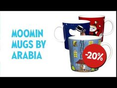We're celebrating the Moomin's anniversary with new surprises every day in November! Moomin Mugs, 70th Anniversary, Mornings, Campaign, Coding, Tableware, Dinnerware, Dishes, Place Settings