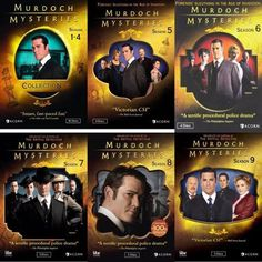 Murdoch Mysteries Seasons 1-9 Set on DVD