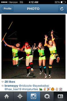 Halloween group costume