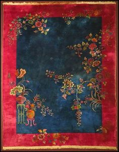 CHINESE CARPET (colour palette, design)
