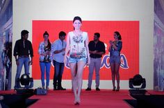 Manjari Fadnis at the Launch of Fast #Fashion Brand #INTRIBE by Reliance Trends!