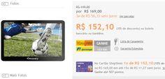"""GPS Automotivo Aquarius Discovery Channel 7.0"""" com TV Digital << R$ 13689 >>"""