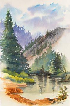 Watercolor.....nature