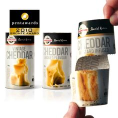 Bronze Pentaward 2010 – Food – The Grain Cheese Packaging, Bronze Award, Design Competitions, Cheddar, Packaging Design, Grains, Identity, Food, Creative