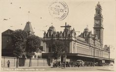 Estação da Luz, São Paulo, década de 1930.  Gustavo Prugner. Arquivo Nacional, Fotografias Avulsas, BR_RJANRIO_O2_0_FOT_00448_007