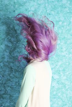 Wanna Brighten your days? Try change your hair color ! Shop human hair extensions from www. Pink Purple Hair, Lilac Hair, Pastel Hair, Green Hair, Pastel Goth, Pastel Purple, Pretty Pastel, Dye My Hair, Your Hair