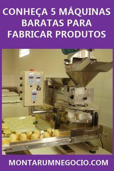 5 Pequenas máquinas para fabricar produtos! Conheça algumas máquinas baratas que são utilizadas para fabricar produtos que geram um bom lucro. Kitchen Aid Mixer, Ecommerce, Money, Business, Yakisoba, Make Money On Internet, Bakery Interior, To Sell, Tin Cans