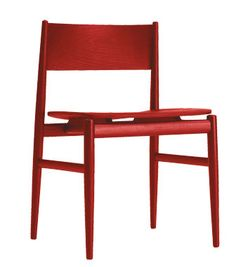 nterior Design's Hall of Famer Piero Lissoni interprets the classic wooden chair from a modernist perspective with Neve, whose rigorous yet soft lines are wrought from stained ash in various thicknesses. Choose the natural finish or a number of stains including red and black. 39-31-783266; porro.com.