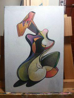 Acrílico sobre lienzo/ Por: Daniela Batalla